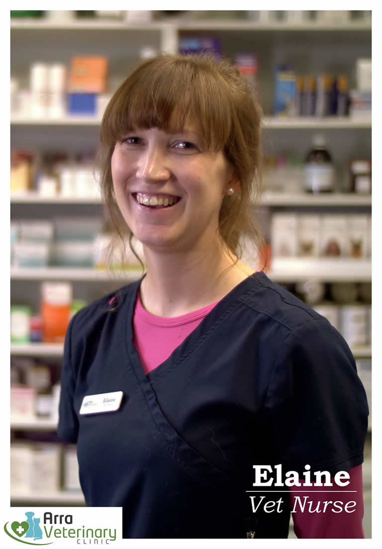 Elaine Smyth, Arra Veterinary Clinic